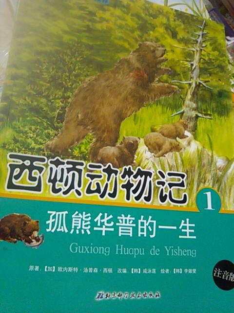 全新正版 西顿动物记4 孤熊华普的一生 注音版 价格:11.50