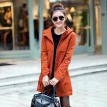 2013秋装新款大码显瘦休闲女式风衣 韩版长袖大衣外套女装 长 价格:168.00