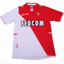 13-14摩纳哥主场球衣主场短袖足球服队服训练服 价格:80.00
