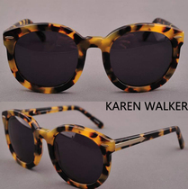 KAREN WALKER太阳眼镜玳瑁边框 (SUPER DUPER STRENGTH)1101432 价格:228.00