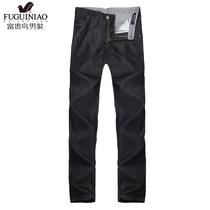 富贵鸟男装 2013春季新款 高档男士休闲牛仔长裤 裤子  10212226 价格:195.60