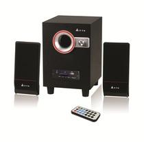 金河田(GoldenField)H1U2.1多媒体音箱2.1低音炮音响台式电脑喇叭 价格:150.00