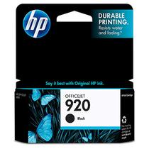 惠普(HP) CD971AA 920号黑色墨盒 适用 Pro 6000 6500 7000 价格:118.00
