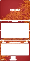 美本堂  东芝L530(L531 L535 L538) 炫彩 彩色 外壳膜 保护膜 价格:70.00