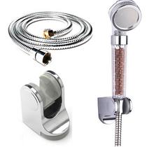 热水器喷头 负离喷头花洒 洗浴喷头 淋浴喷头套装SPA 价格:25.30