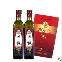 阿格利司希腊进口500ML特级橄榄油两瓶装美容护肤口服烹饪包邮 价格:108.00