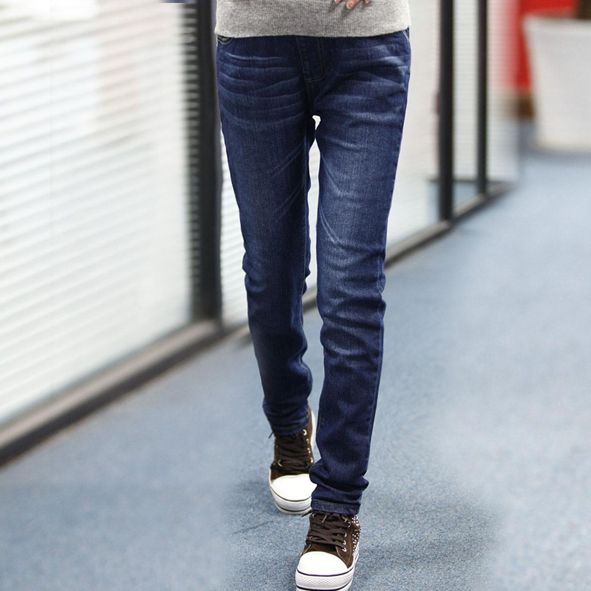 lovesmama孕妇裤韩版孕妇装秋装时尚托腹长孕妇牛仔裤小脚裤96172 价格:138.60