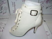 特价康奈女鞋专柜正品白色 黑色商务高帮镂空女士凉鞋12113276-41 价格:360.00
