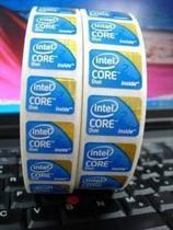4皇冠 intel core2 duo 笔记本贴纸 标贴 logo 贴 笔记本 台式机 价格:0.80