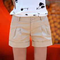 2013夏装 包邮 新款 韩版休闲 糖果色 工装 时尚热裤 短裤 女 夏 价格:35.00