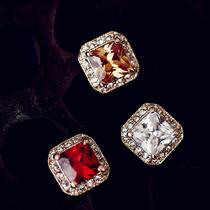 奥地利水晶 让相思成病 公主款 气质 宝石群镶 耳钉 0819 价格:29.80
