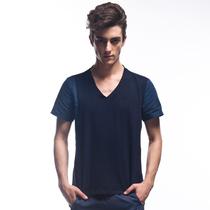 特价punchline 韩版时尚新款上衣服纯棉V领短袖T恤 122526 价格:28.00