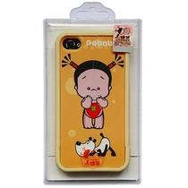 小破孩 组合式浮雕保护壳 适用于iPhone4/4S 遛狗 / 价格:68.00