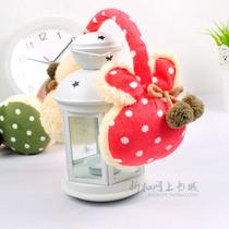 韩版 可爱 加厚 兔耳朵 绒绒耳套 秋冬护耳 耳罩 耳包 耳暖 价格:15.80