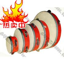 儿童打击乐器 奥尔夫正品 幼儿园玩具4 6 7 8 10英寸羊皮铃鼓手鼓 价格:6.50