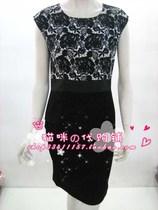 欧妮雅唯一指定授权店 13856 韩版高档时尚女式短袖连衣裙 免运费 价格:670.00