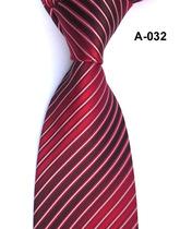 红色条纹 正装商务男士新郎结婚领带 满70包邮+送领带夹 价格:35.00