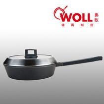 德国Woll 平底锅不粘锅 煎锅28CM 德国经典系列深煎炒锅具 无油烟 价格:1088.00