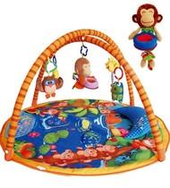 正版!LALA拉拉布书婴幼儿游戏毯/爬行垫/音乐 猴子捞月 精美礼品 价格:246.84