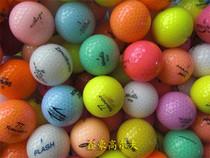 特价 正品9成新彩色二手高尔夫球 golf用品 高尔夫二手水晶彩球 价格:2.50