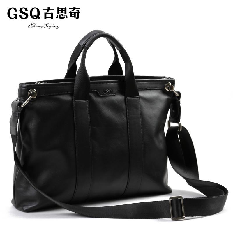 GSQ精品男包 英伦风尚 商务休闲 斜挎包 单肩包 手提包 公文包包 价格:299.23