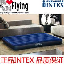 正品intex 68758/68759 双人植绒充气床 气垫床 午休床 野营床垫 价格:115.00