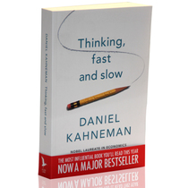 英文原版 Thinking, Fast and Slow By Daniel Kahneman 价格:228.00