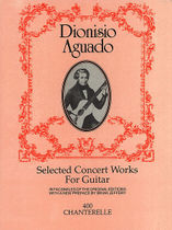 Dionisio Aguado Selected Concert Works for Guitar 价格:199.00
