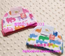 专柜正品 美国luvable friends全棉宝宝可爱帽2个装 价格:23.80
