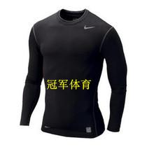 正品耐克PRO 科比 篮球 运动紧身衣长袖 男 健身衣足球 长袖黑色 价格:70.00