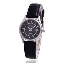 专柜正品伯尼手表,超薄时尚 经典女表,黑色真皮时尚 女士手表 价格:268.00