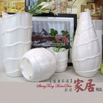 新品现代简约 素烧花瓶/室内装饰工艺品 台面陶瓷花瓶 米弗莱花瓶 价格:69.00