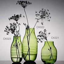 百花园 玻璃高雅花瓶水培花器透明玻璃饰品 家居摆设装饰摆件礼品 价格:214.00