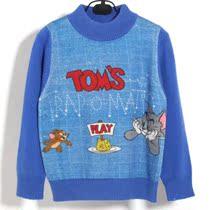 断码处理  数码印花 羊绒衫 儿童羊毛衫猫和老鼠图案8820款 价格:108.00