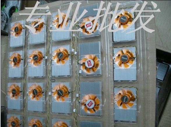 索泰GeForceGT 520 9400GT索泰N9400GT-512D2精视版显卡风扇 价格:15.00