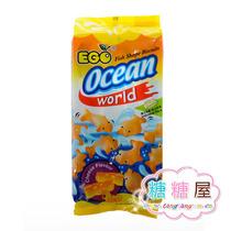 马来西亚进口零食 EGO小鱼儿图形饼 奶酪味可爱饼干 140(198)g 价格:8.80