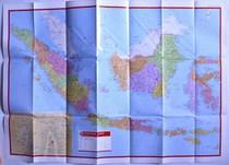 印度尼西亚地图 东帝汶 2012 亚洲系列地图 价格:10.00