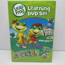 LeapFrog: Learning Set 跳跳蛙6DVD+1CD 26张卡片和宣传纸 价格:35.00