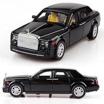 劳斯莱斯幻影 1:32 轿车 回力车玩具 合金 汽车模型 声光版 价格:38.00