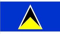 世界国旗 圣卢西亚国旗 2号 240cm*160cm最好的料 价格:80.00