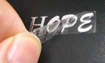 金属标定做金属标签 3M背胶金属标贴金属不干胶贴纸定制金属logo 价格:0.18