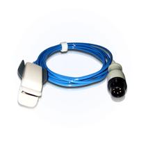 兼容 韩国品牌/Bionet BM3 6针成人指夹式血氧探头 价格:118.00