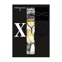 日文原版 X illustrated collection 2 X∞X战记原画集clamp 现货 价格:265.00