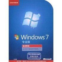 微软正版 windows 7 / win 7中文专业版 彩包 32位+64位 英文有货 价格:288.00