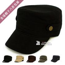 包邮 女士帽子 男士夏天遮阳帽 潮款平顶帽太阳帽 韩版军帽鸭舌帽 价格:26.00