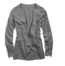 清仓特价AE美国鹰American Eagle女针凿7分袖针织衫开衫原价89 价格:49.00