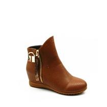 高蒂女鞋2014春款打孔靴  内增高金属饰扣时尚打孔靴1034-2138 价格:299.00
