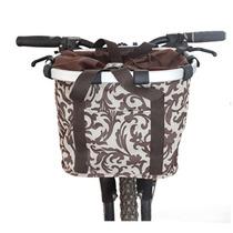 铝合金车筐 自行车首包 山地车车把包 大容量折叠车包 车筐 车篮 价格:48.00