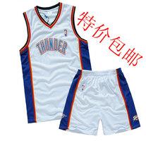 新款 NBA雷霆队 杜兰特球服 主客场 男子 篮球服套装  篮球服包邮 价格:41.60