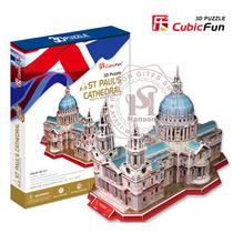 乐立方立体拼图3d纸模建筑模型圣保罗大教堂MC117h创意生日礼物 价格:46.00